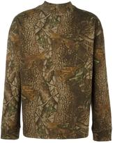Yeezy Season 3 forest print sweatshirt - men - Cotton - S