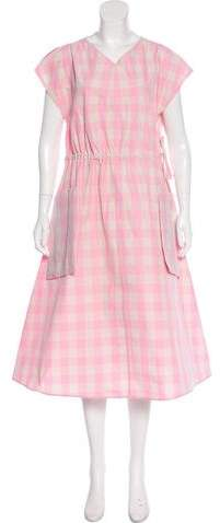 Sofie D'hoore Gingham Print Dress