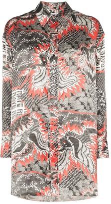 Dragon Optical Electra Print Shirt