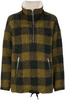 Etoile Isabel Marant plaid jacket - women - Wool/Polyester/other fibers/Cotton - 34