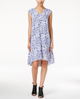 Alfani Printed Trapeze Dress, Only at Macy's
