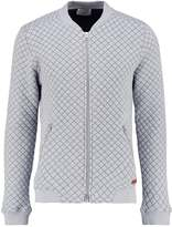 Knowledge Cotton Apparel Bomber Jacket Grey Melange