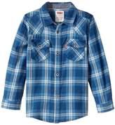 Levi's Barstow Western Plaid Shirt (Little Kids)