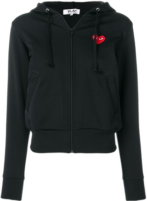 Comme des Garcons logo patch hoodie