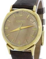 Bulova Accutron C62009 14K Yellow Gold Vintage 32mm Mens Watch