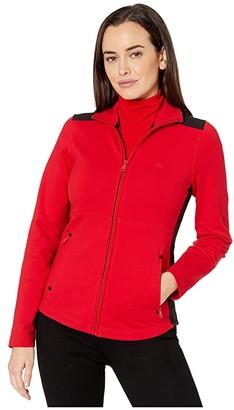 Lauren Ralph Lauren Color-Blocked Cotton-Blend Jacket
