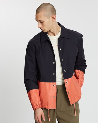 Band Of Outsiders Colour-Block Coach Jacket