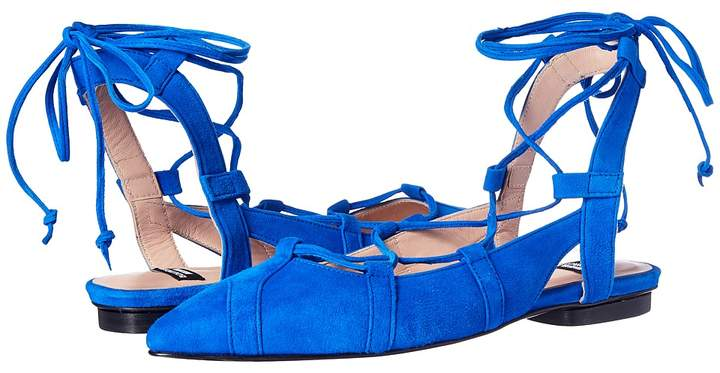Moschino Lace-Up Flats Women's Shoes