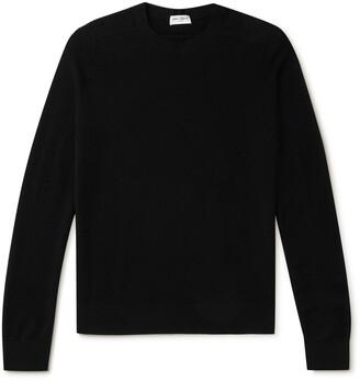 Saint Laurent Slim-Fit Ribbed Wool-Blend Sweater