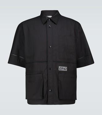 Valentino Technical short-sleeved shirt