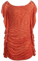 Arden B Space Dye Flutter Tunic