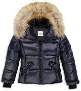 SAM. Girls' Fur-Trimmed Down Jacket - Big Kid