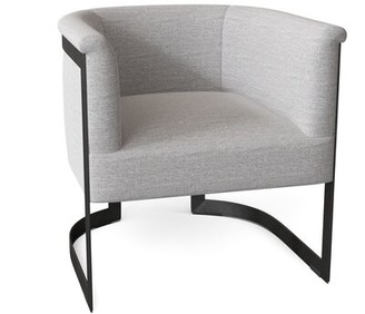 Bernhardt Zola Barrel Chair Body Fabric: 1731-010