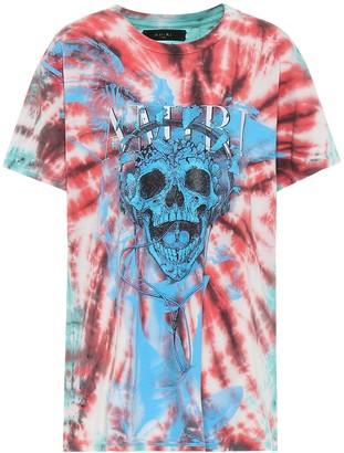 Amiri Tie-dye printed cotton T-shirt