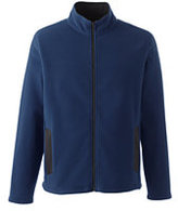 Classic Men's Tall Fleece Full-zip Jacket-Navigator Blue
