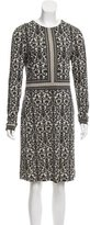 Tory Burch Printed Silk Dress