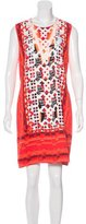 Peter Pilotto Digital Print Mini Dress