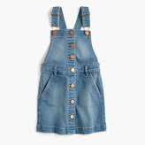 J.Crew Girls' denim overall dress