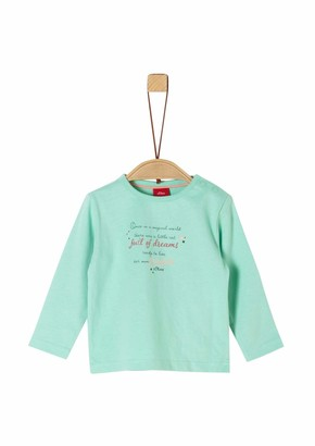 S'Oliver Baby Girls' 65.911.31.7728 Long Sleeve Top