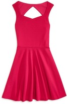 Aqua Girls' Sweetheart Skater Dress - Sizes S-XL
