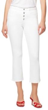 Sanctuary Connector Braided Kick-Crop Jeans