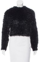 Thierry Mugler Textured Cropped Top