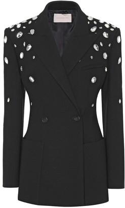 Christopher Kane Crystal-embellished blazer