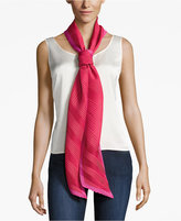 Echo Pleated Long and Skinny Scarf