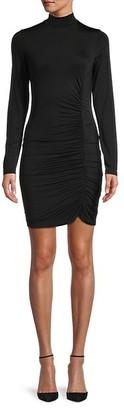 Young Fabulous & Broke Long-Sleeve Mockneck Dress