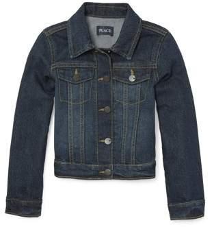 Children's Place The Classic Denim Jacket (Little Girls & Big Girls)