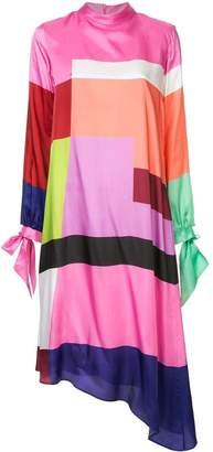Mary Katrantzou colour block dress