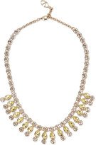 Valentino Gold-plated crystal necklace