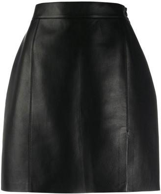 Nanushka Gima vegan leather mini skirt