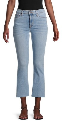 Hudson Cropped Bootcut Jeans