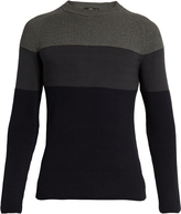 HELBERS Colour-block cotton sweater
