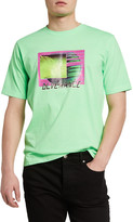 Diesel Men's Just Neon Graphic T-Shirt