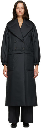 Julia Jentzsch Black Recycled Down Wendeline Coat