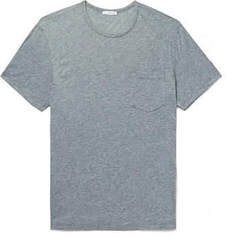 James Perse Melange Cotton-Blend Jersey T-Shirt