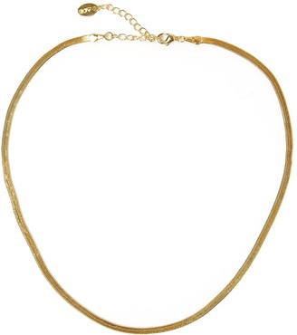 Arms Of Eve Sloane Gold Snake Chain Choker