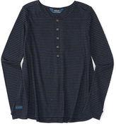 Ralph Lauren Striped Cotton Jersey Henley