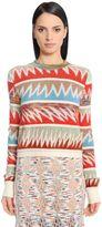 Missoni Wool Blend Jacquard Sweater