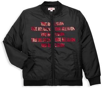 True Religion Boy's Heavyweight Bomber Jacket