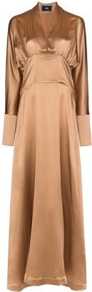Taller Marmo Elvira silk maxi dress