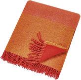 Clarissa Hulse Filix Lambswool Blanket - Coral - 140x183cm