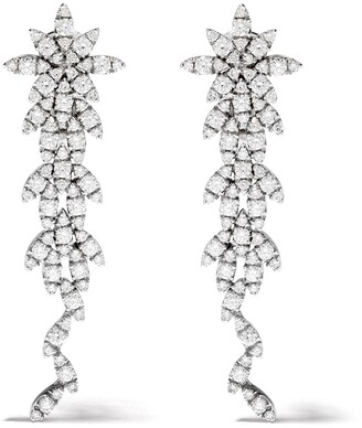 Pasquale Bruni 18kt white gold Ghirlanda diamond earrings