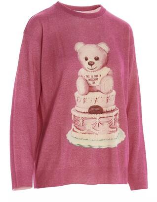 Moschino Teddy Crewneck Sweater
