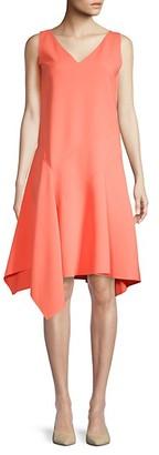 Lafayette 148 New York Sleeveless A-Line Dress