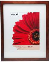 nexxt Gallery Picture Frame, 11 by 14-Inch Matted For 8 by 10- Inch