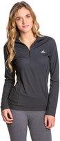 adidas Women's Terrex Swift Long Sleeve 1/2 Zip Running Tee 8117584