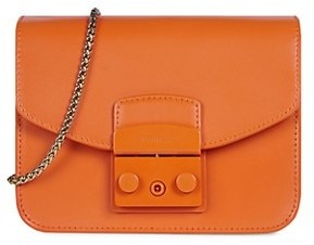 Furla Mini Metropolis Leather Crossbody Bag